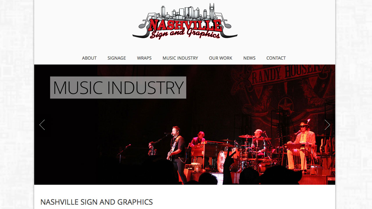 Nashville Sign and Graphics | Consonant Music Clients